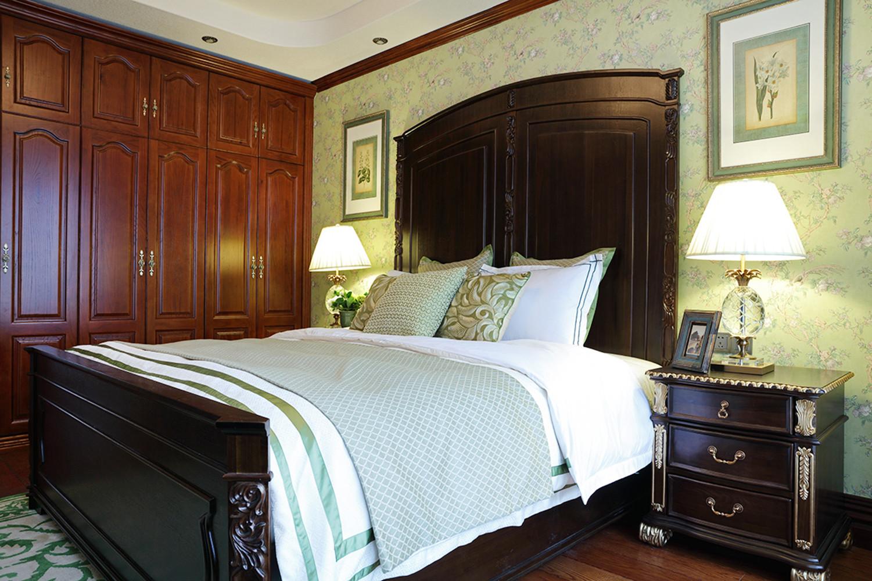 美式别墅装修衣柜图片