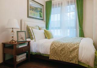 美式别墅装修客房布置图