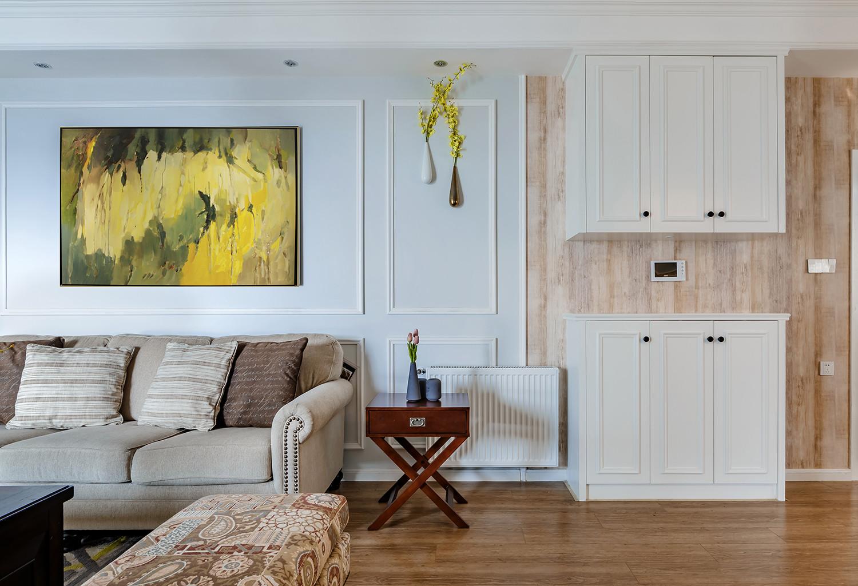 美式三居之家鞋柜图片