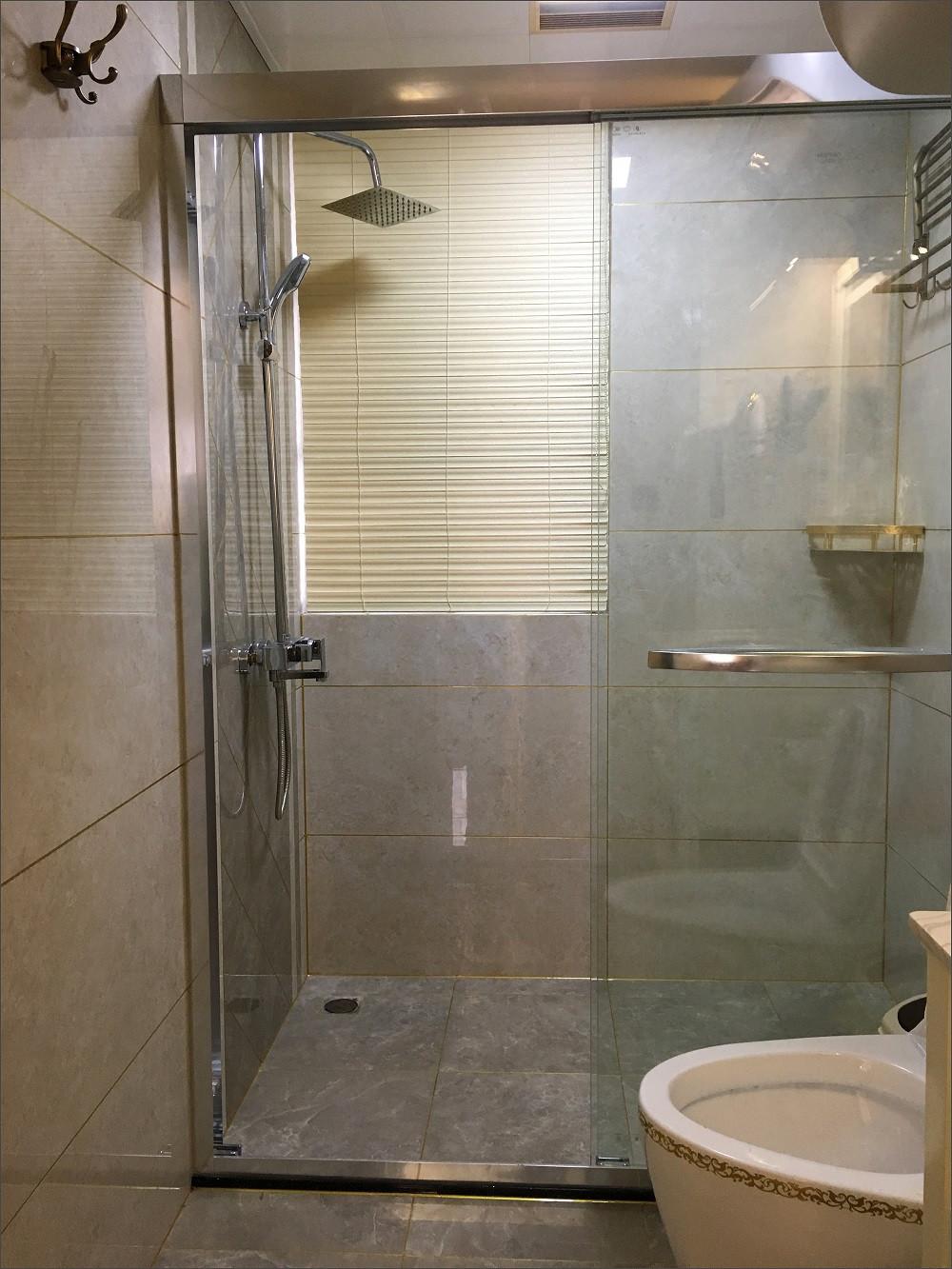 110㎡美式装修卫生间设计图