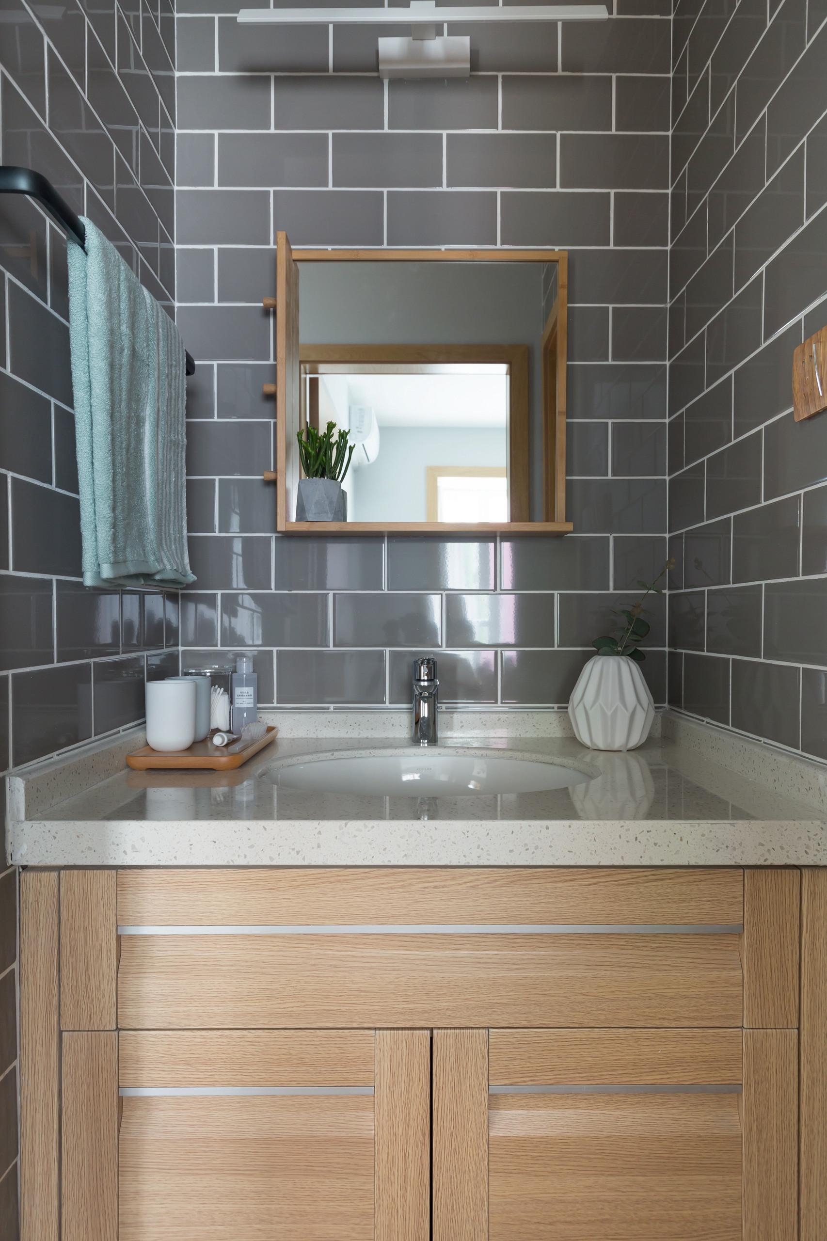 小户型北欧风格家洗手台图片