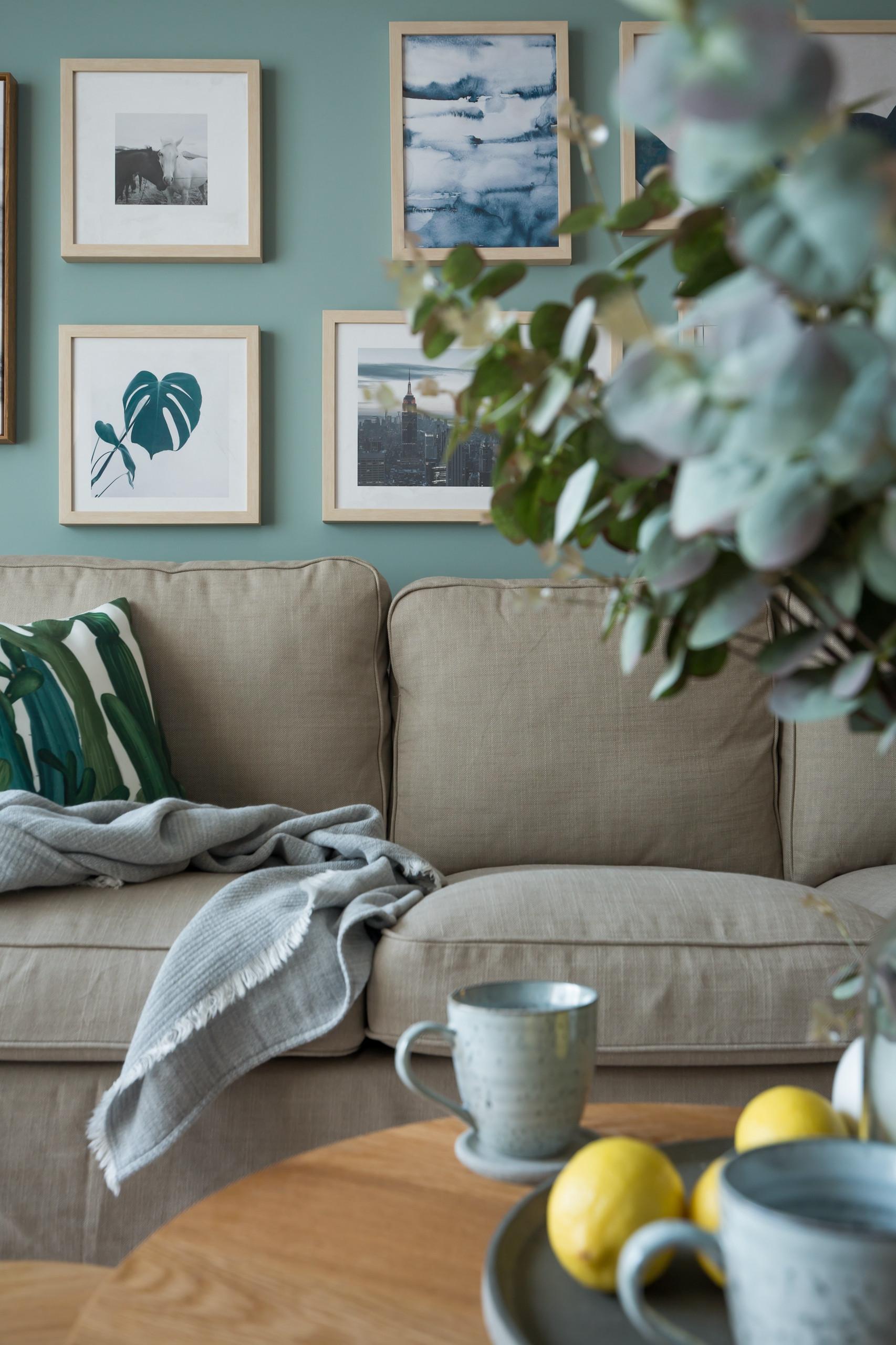 小户型北欧风格家沙发图片