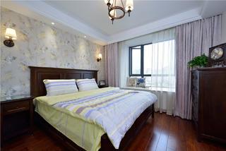 二居室美式之家卧室设计图