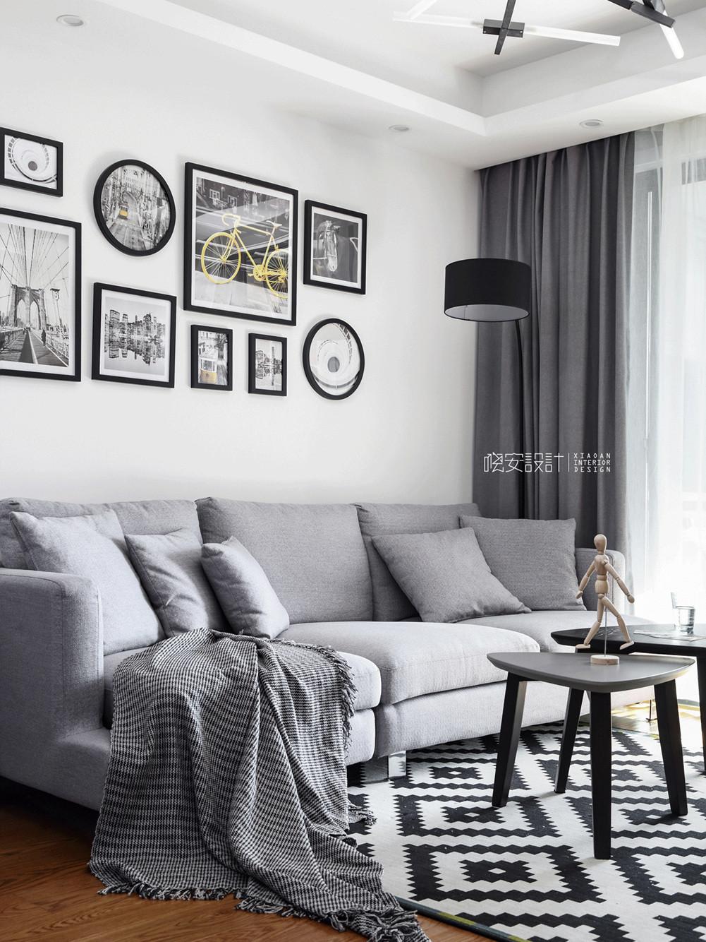 85平北欧之家沙发图片