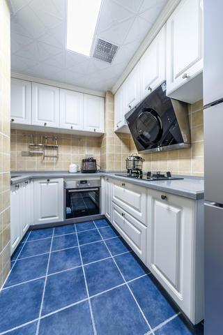 90平美式二居厨房设计