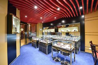 25平珠宝店装修地面设计