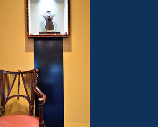 25平珠宝店装修墙面设计局部图