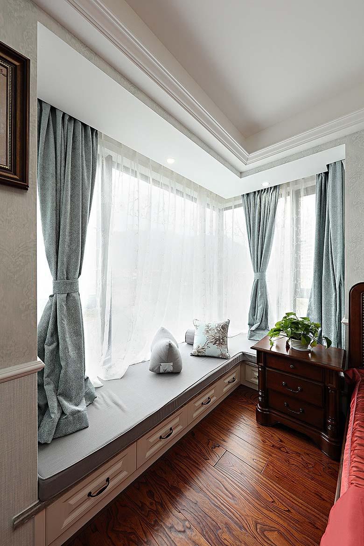 小美风格窗帘手绘图
