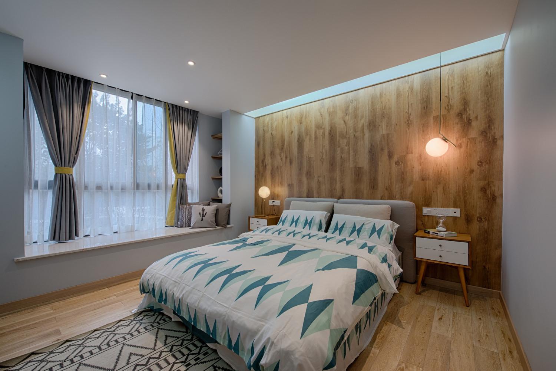 单身白领的北欧家卧室效果图