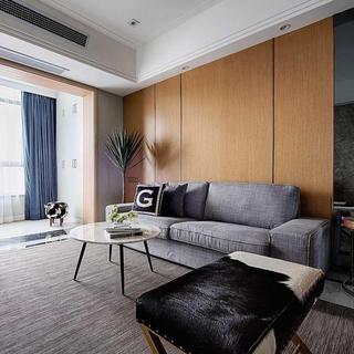 126平混搭三居室装修效果图