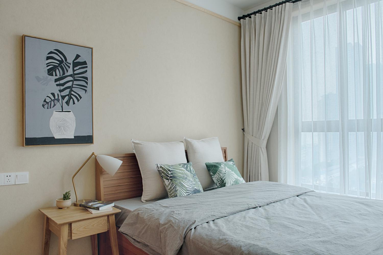 日式三居装修次卧搭配图