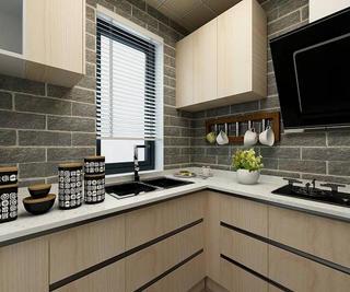 现代北欧二居之家厨房效果图