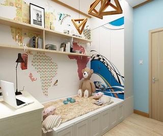 100㎡三居室儿童房设计图