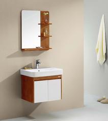 华艺卫浴  FA064AA36 全实木 60公分浴室柜