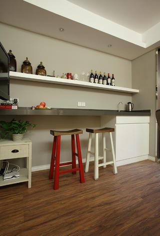 90㎡美式风格家吧台设计