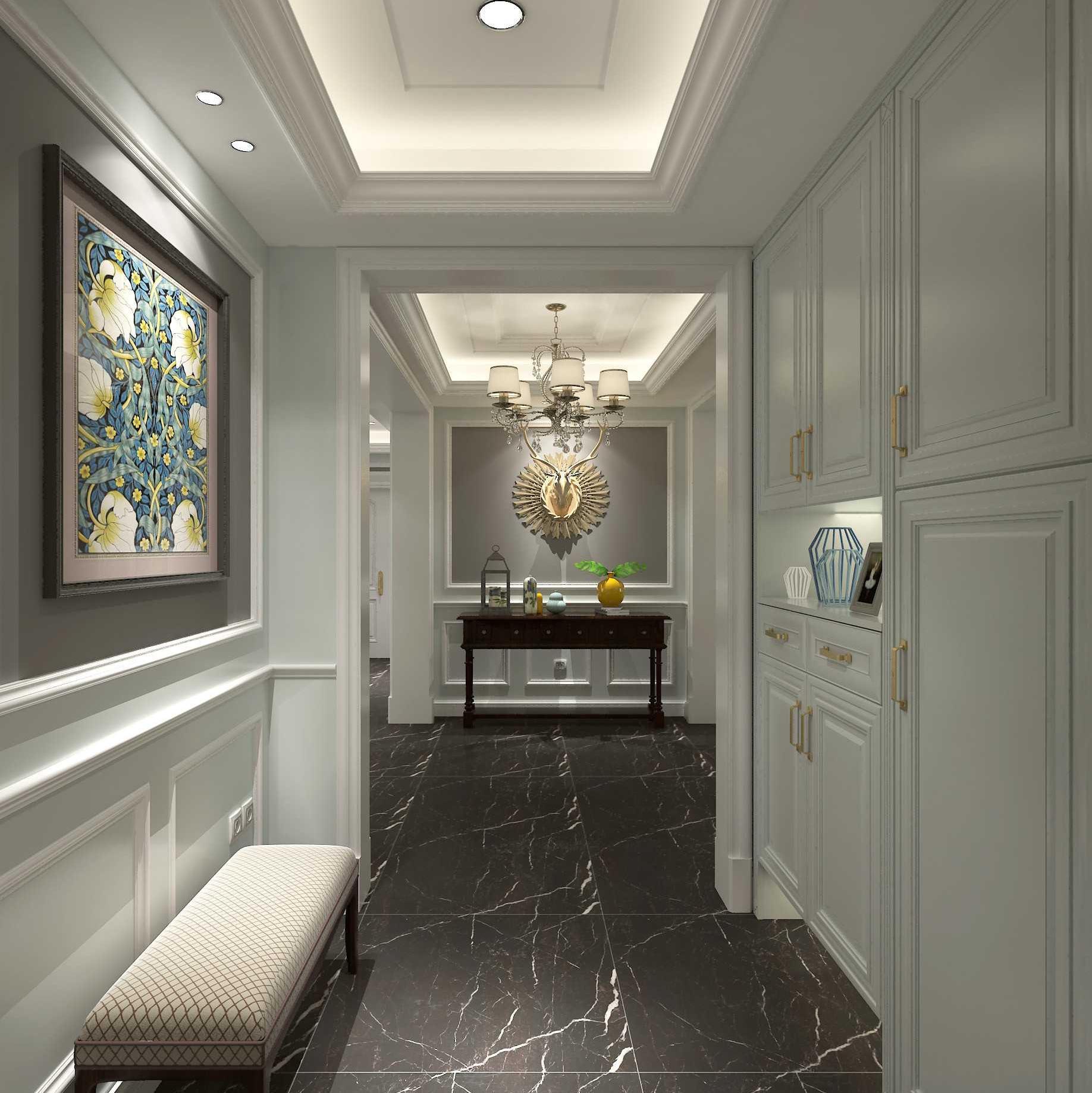 0 89平现代简约风格装修效果图 80平米装修二居室装修20万以上装修