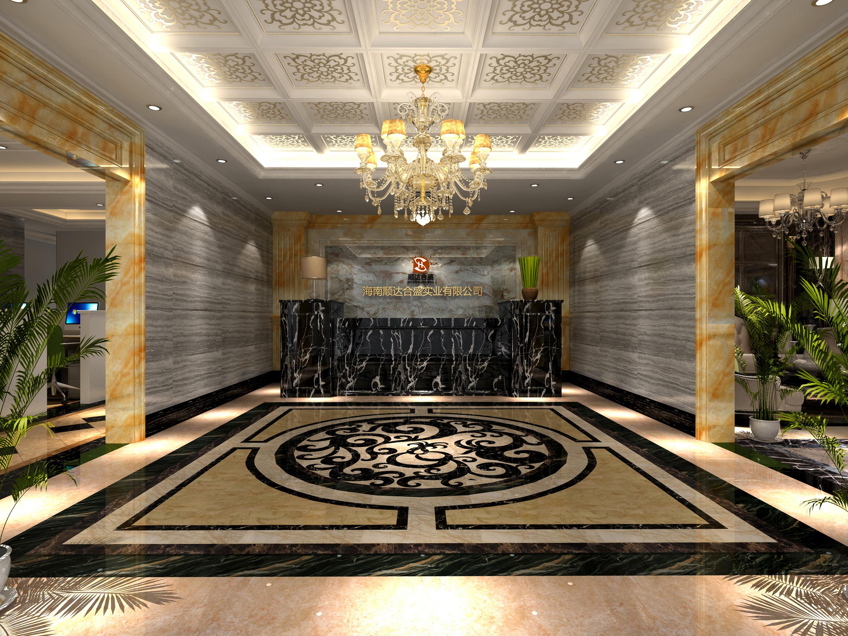 大理石展厅装修大厅效果图