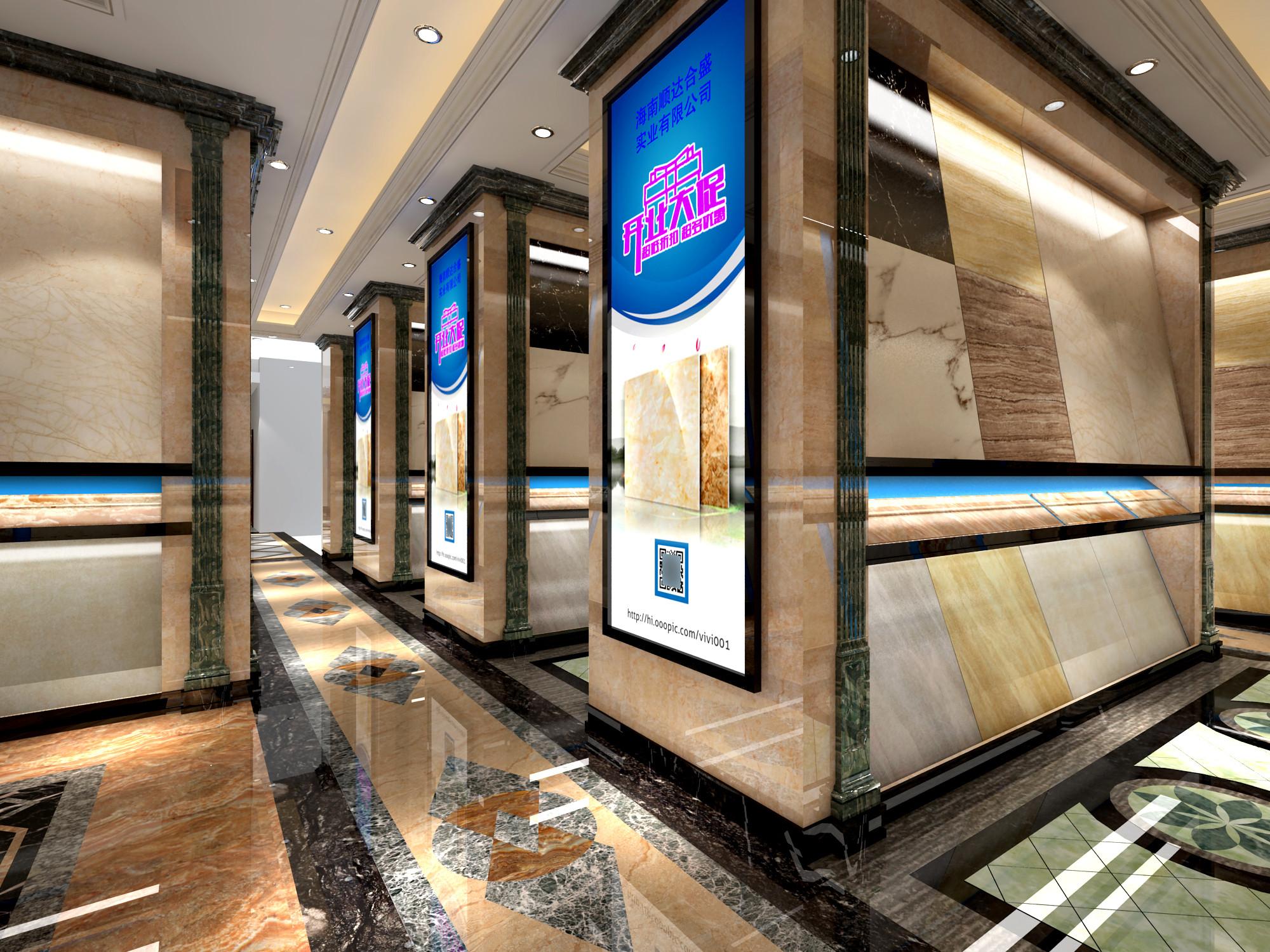 大理石展厅装修卖场展厅图片