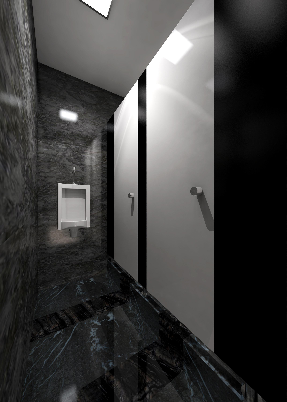 大理石展厅装修卫生间效果图
