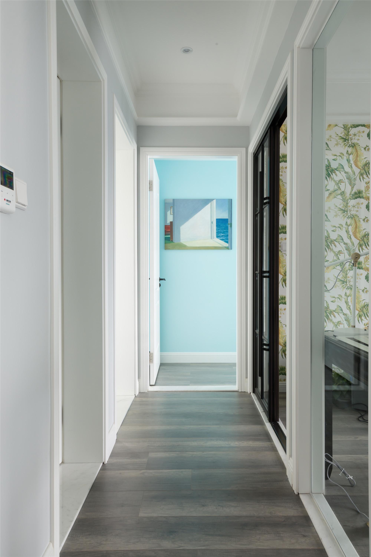 现代美式装修走廊图片