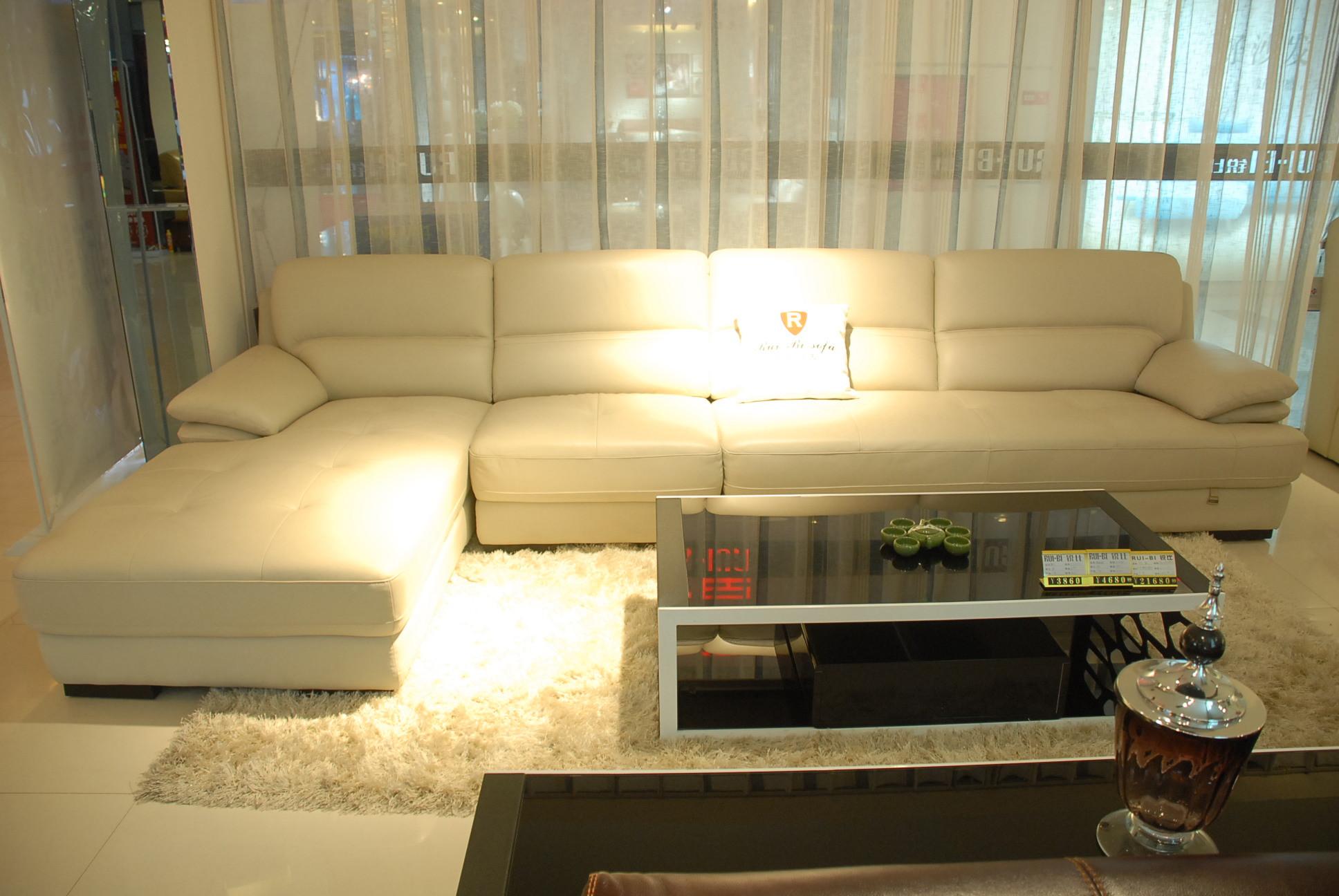 2803真皮沙发
