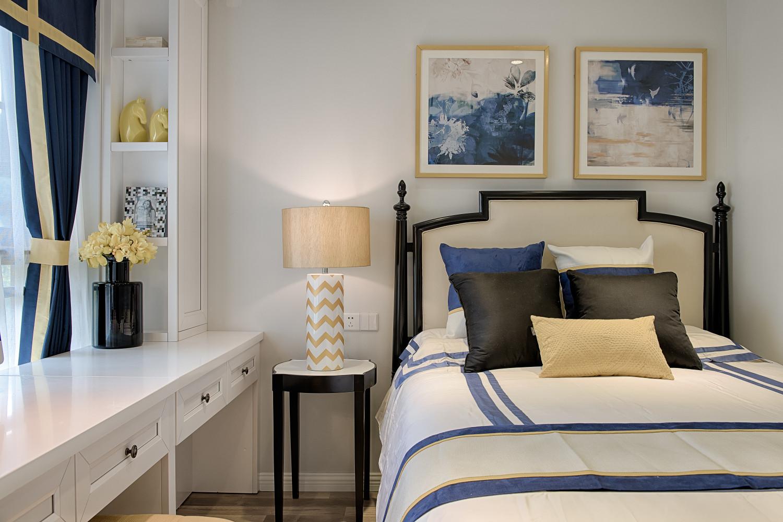60平小户型设计床头背景墙图片
