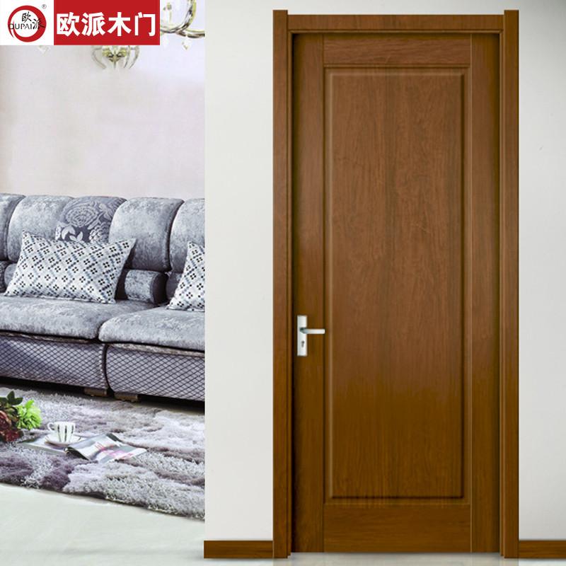 欧派木门 致雅实木复合门 致雅-001 房门 室内门