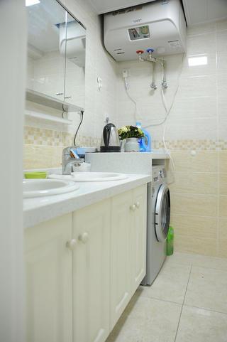 110平简约三居室装修洗手台图片
