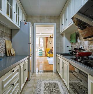 130㎡美式装修厨房参考图