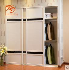 KD凯蒂衣帽间衣柜隽琢系列定制设计步入式现代简约组合衣柜家具