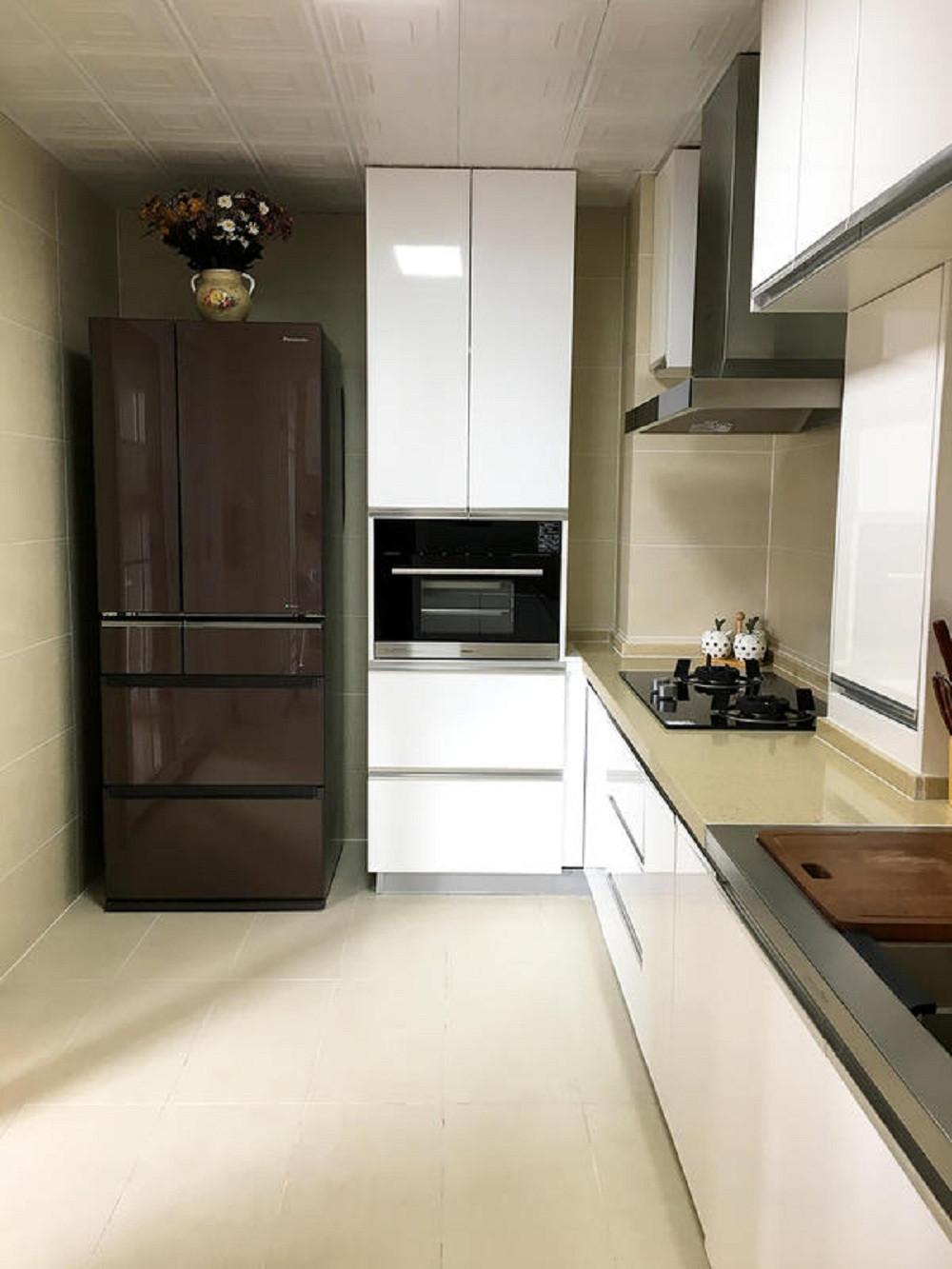110平简约之家厨房欣赏图
