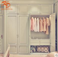 KD凯蒂整体家居系列定制衣柜定做家具平开门衣柜衣帽间简约欧式