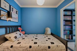 混搭二居室之家次卧设计图