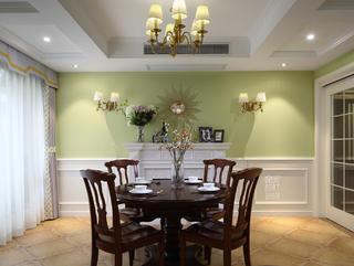 简美复式装修餐厅效果图