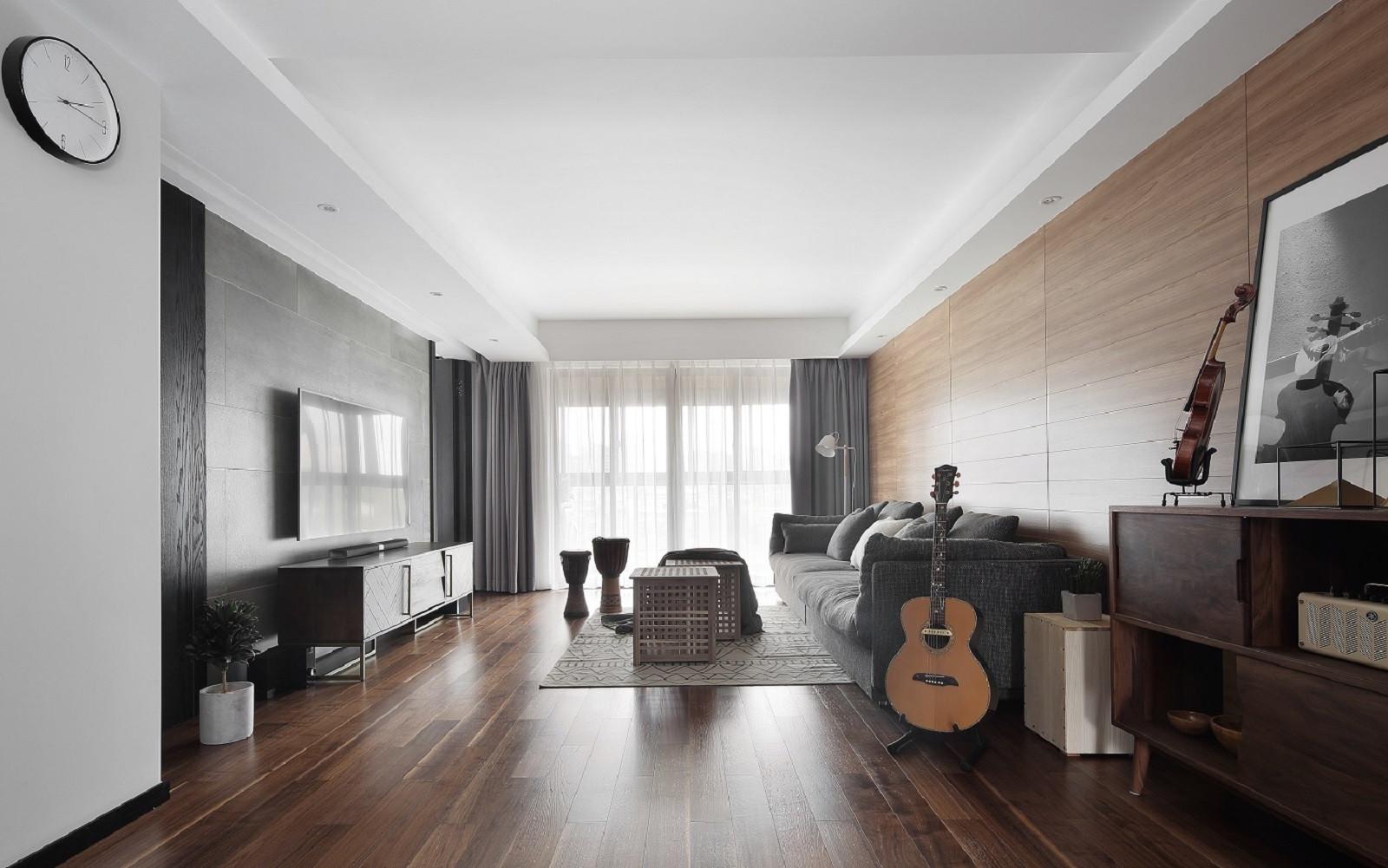 160平北欧风装修客厅效果图