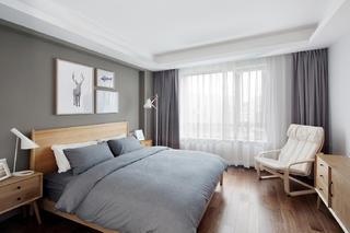 160平北欧风装修卧室效果图
