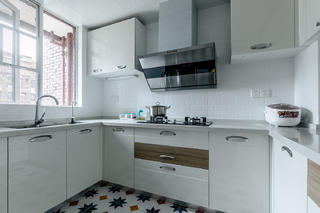 北欧三居装修厨房效果图