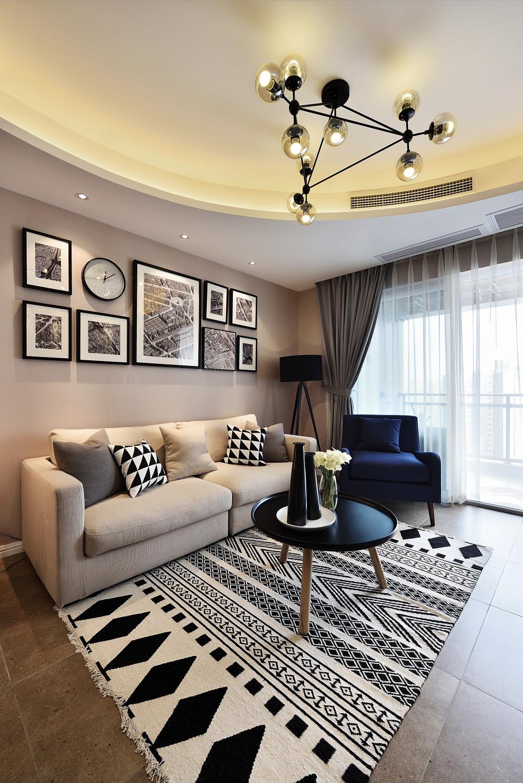 摩登现代风装修沙发图片