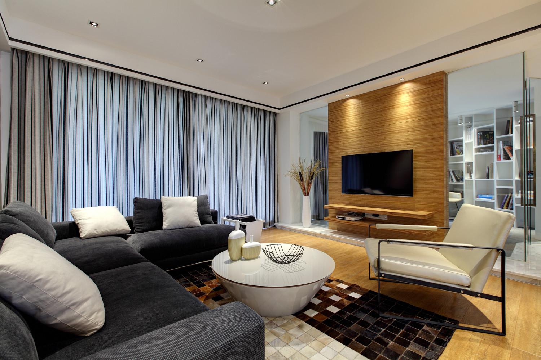 经典现代风装修沙发图片