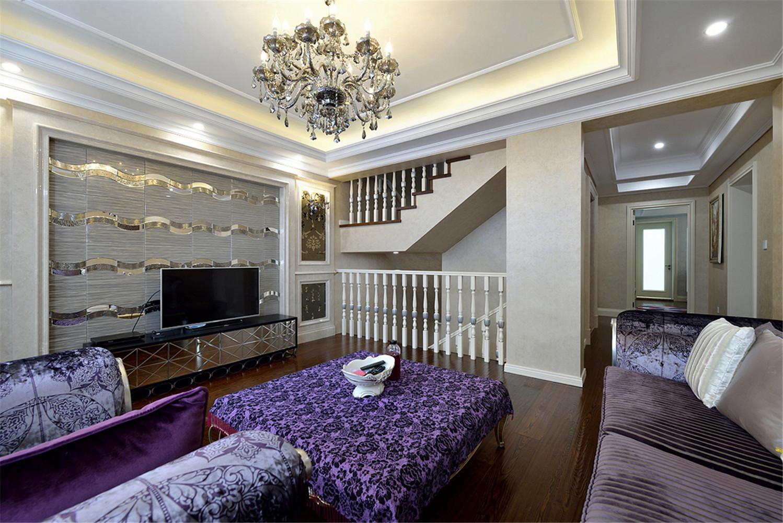 法式别墅装修客厅设计图