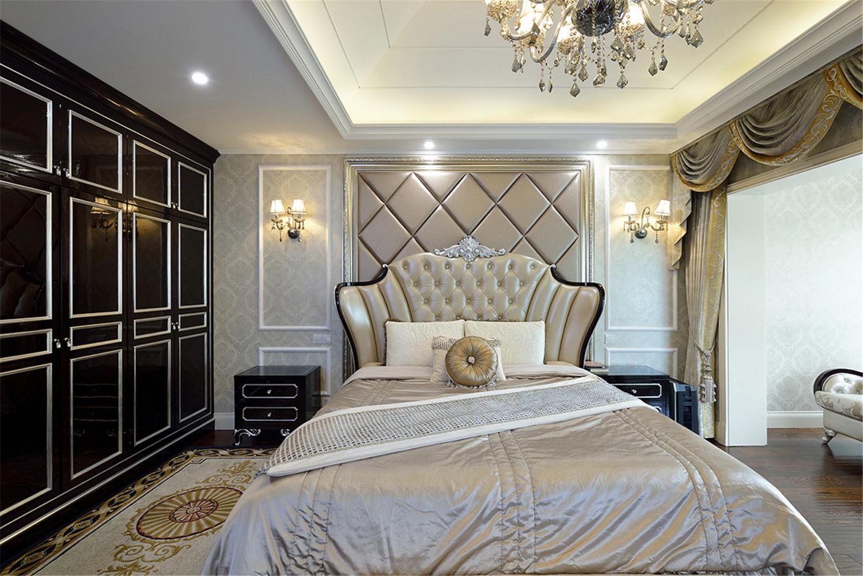 法式别墅装修卧室效果图
