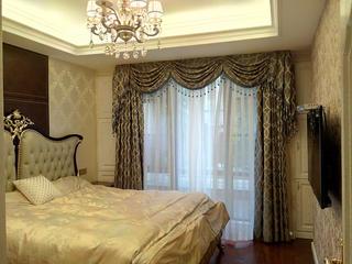 欧式风格别墅装修老人房欣赏图