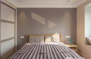 北欧三居之家床头背景墙图片