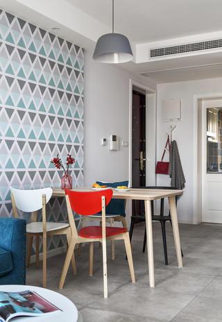 二居室北欧之家餐厅设计图