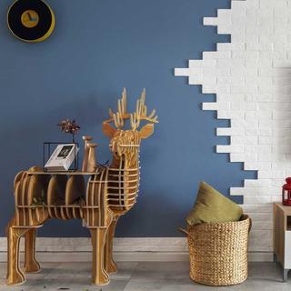 二居室北欧之家 色彩鲜明