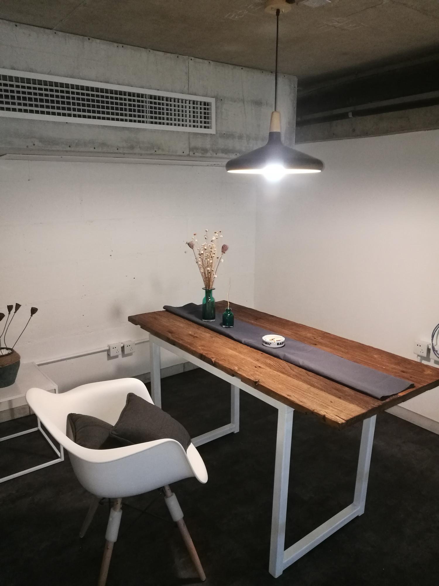 混搭工业风办公室装修二层办公区