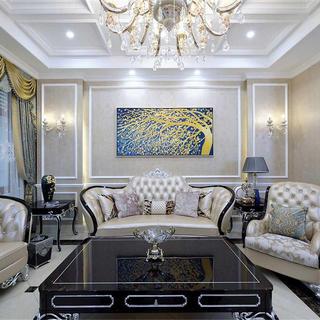 法式别墅装修效果图 浪漫高贵