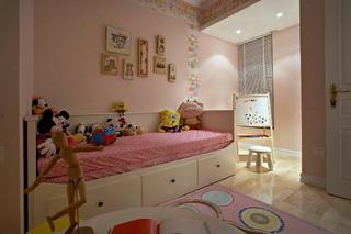 简美三居装修儿童房布置图