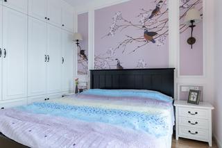 美式三居之家卧室效果图