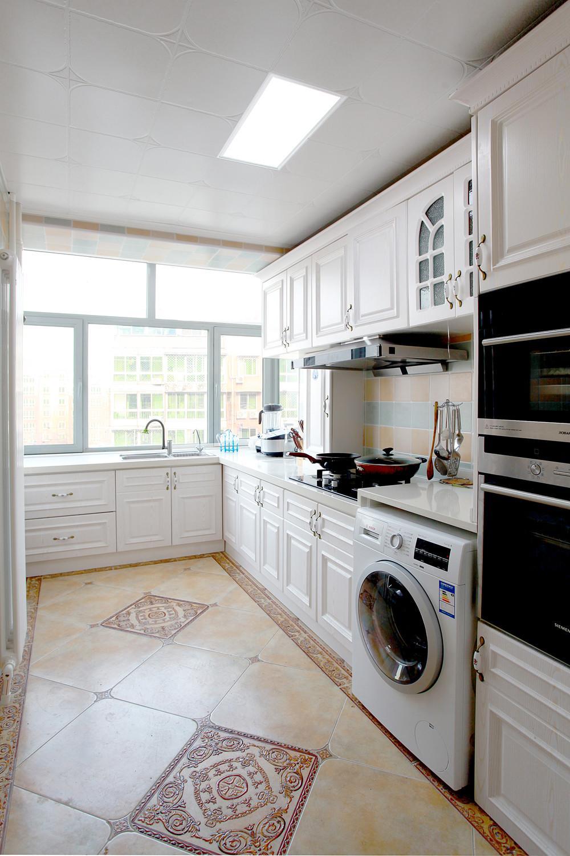 混搭二居室装修厨房欣赏图